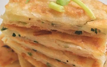 葱油饼,酥饼,酥脆泡打粉